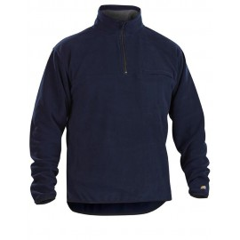 Pull micropolaire col camionneur Marine 4831 Blaklader